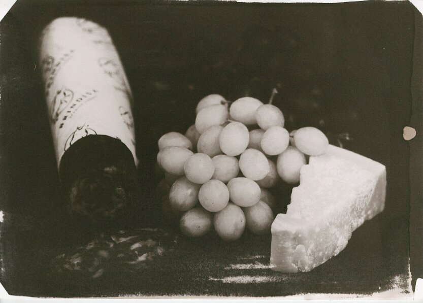 Still Life With Grapes kallitype